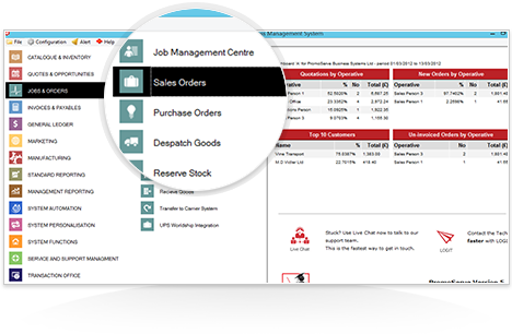 Manage Consumable Sales Orders